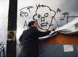 Jean-Michel Basquiat in Downtown 81