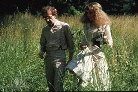 Woody Allen and Mia Farrow in A Midsummer Night's Sex Comedy