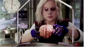 Rose McIver is the freshly zombified Liv in iZOMBIE.