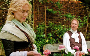 Kate Winslet and Alan Rickman in A Little Chaos