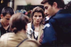 Juliette Binoche in Code Unknown