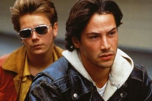 River Phoenix and Keanu Reeves star in My Own Private Idaho