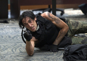 Adrien Brody goes to the gun in American Heist