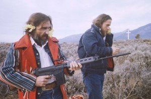 Dennis Hopper goes to the gun in The American Dreamer