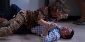 Elijah Wood falls victim to the Cooties.