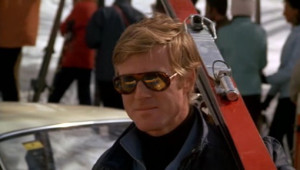 Robert Redford is the Downhill Racer