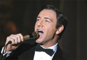 Kevin Spacey is Bobby Darin in 2004's Beyond the Sea.