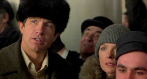 Warren Beatty and Diane Keaton in Reds