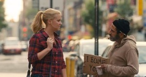 Amy Schumer and Dave Attell in Trainwreck