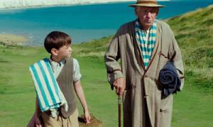 Ian McKellen and Milo Parker in Mr. Holmes