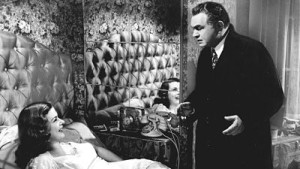 Edward G. Robinson and Joan Bennett in Scarlet Street