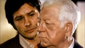 Alain Delon and Jean Gabin in Two Men