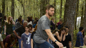 Mike Vogel searches for answers Under the Dome.