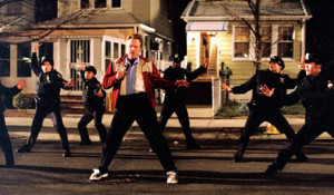 Christopher Walken and company are dancing in the streets in Romance & Cigarettes.