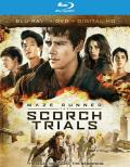 The Maze Runner: The Scorch Trials Blu-ray box