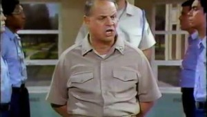 Don RIckles is CPO Sharkey
