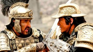 John Cusack and Jackie Chan in Dragon Blade