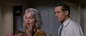 Paul Newman and Joanne Woodward in From the Terrace
