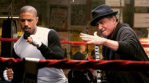 Michael and Sly dance up a storm in Creed