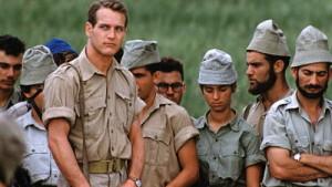 Paul Newman leads the exodus in Exodus