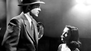 Dana Andrews and Gene Tierney in Where the Sidewalk Ends