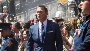 Daniel Craig is James Bond in Spectre.