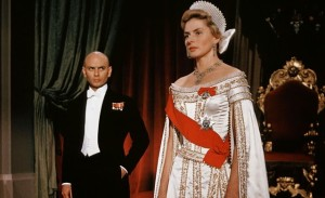 Ingrid Bergman and Yul Brynner in Anastasia