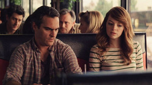 Joaquin Phoenix and Emma Stone in Woody Allen's Irrational Man
