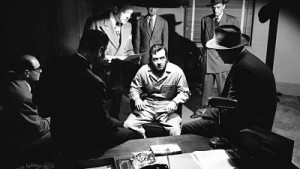 John Payne sweats it out in Kansas City Confidential.