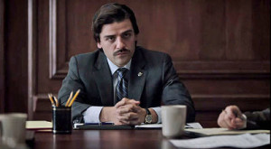 Golden Globe-winner Oscar Isaac is Yonkers Mayor Nick Wasicsko in Show Me a Hero.