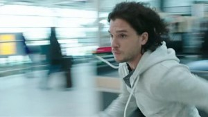 Kit Harington bolts into action in MI-5.