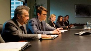 Al Pacino and Josh Duhamel in Misconduct