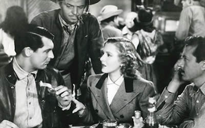 The classic 1939 film noir adventure starring Jean Arthur and Cary Grant is coming from Criterion in April!