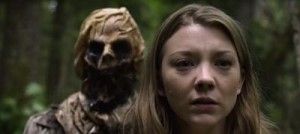 "Natalie Dormer and, er, ""friend"" in The Forest"