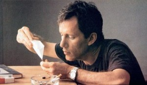 James Woods is introduced to cocaine in The Boost.