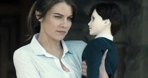 "Lauren Cohan and ""friend"" in The Boy"