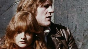 Isabelle Huppert and Gerard Depardieu in Maurice Pialat's Loulou