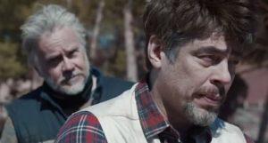 Tim Robbins and Benicio del Toro in A Perfect Day