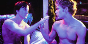 Breckin Meyer (l.) and Ryan Phillippe in 54: The Director's Cut.