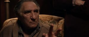 Judd Hirsch grimaces in Altered Minds