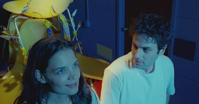 ...............Katie Holmes and Luke Kirby are bipolar--and in love!--in the drama romance coming to disc next week!