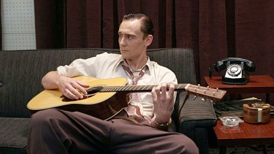 Tom Hiddleston is Hank Williams in the music-filled biographical drama, coming in two weeks!