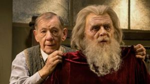 Ian McKellen and Anthony Hopkins in The Dresser