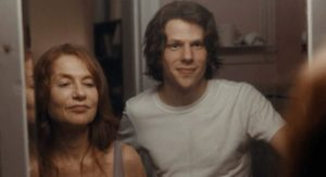 Jesse Eisenberg And Isabelle Huppert in Louder Than Bombs