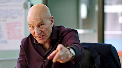 The STARZ Original comedy TV series starring Patrick Stewart comes to DVD next week!