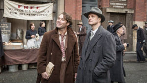 Jude Law and Colin Firth in Genius