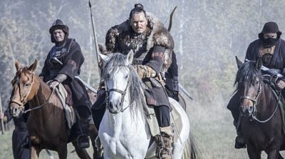 The History Channel's epic four-part miniseries featuring Attila, Spartacus and all the gang comes to disc next week!