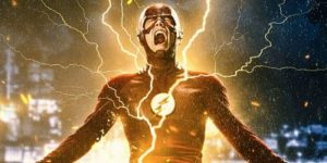 Grant Gustin is electrifying--or maybe just electrified--in The Flash: Season Two.