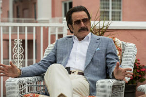 Bryan Cranston stars as an undercover U.S. Customs agent The Infiltrator.