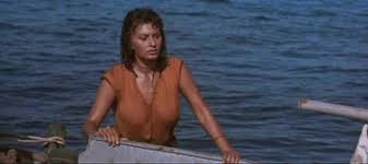 Sophia Loren emerges from the Aegean in the 1957 adventure film, arriving in a restored version tomorrow!